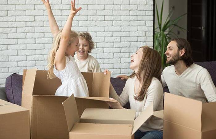 help your family adjust to the new surroundings after a home relocation